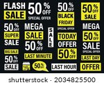 set labels with inscription...   Shutterstock .eps vector #2034825500