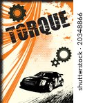 grunge vector background | Shutterstock .eps vector #20348866