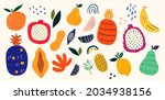 fresh stylish template with... | Shutterstock .eps vector #2034938156