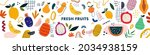 fresh stylish template with... | Shutterstock .eps vector #2034938159