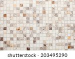 light background with soft gray ... | Shutterstock . vector #203495290