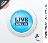 live music sign icon. karaoke...