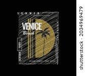 Venice Beach  Illustration...
