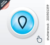 map pointer sign icon. location ...