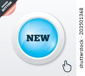 new sign icon. new arrival...