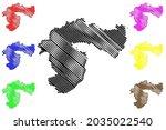 passau district  federal... | Shutterstock .eps vector #2035022540