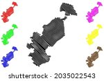 ostholstein district  federal... | Shutterstock .eps vector #2035022543