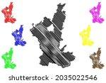 ostallgau district  federal... | Shutterstock .eps vector #2035022546