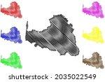 osterholz district  federal... | Shutterstock .eps vector #2035022549