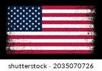 grunge distressed flag of...   Shutterstock .eps vector #2035070726