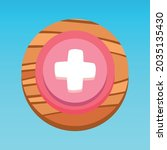 round mobile app ui health...