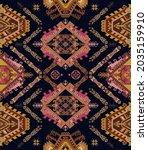 seamless ornamental pattern.... | Shutterstock .eps vector #2035159910