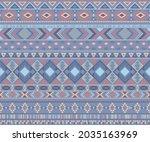 navajo american indian pattern... | Shutterstock .eps vector #2035163969