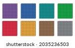 set of place value hundreds... | Shutterstock .eps vector #2035236503