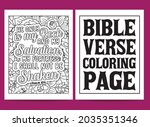 bible verse coloring pages ...   Shutterstock .eps vector #2035351346