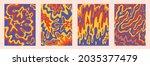 vintage vector interior posters ...   Shutterstock .eps vector #2035377479