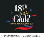 chile independence day... | Shutterstock .eps vector #2035438313