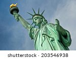 close up of the statue of... | Shutterstock . vector #203546938