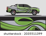 car livery wrap decal  rally... | Shutterstock .eps vector #2035511399