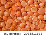 Lentil Grains Orange  In Bulk...