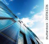 modern architecture. building...   Shutterstock . vector #203561236