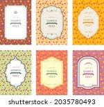 western antique frame vintage... | Shutterstock .eps vector #2035780493