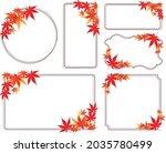 western antique frame vintage... | Shutterstock .eps vector #2035780499