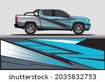 car livery wrap decal  rally... | Shutterstock .eps vector #2035832753