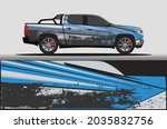 car livery wrap decal  rally... | Shutterstock .eps vector #2035832756