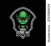 Green Goblin Mascot Logo  Green ...