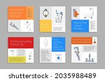 set plumbing service squared...   Shutterstock .eps vector #2035988489