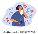 vector illustration on the...   Shutterstock .eps vector #2035996760