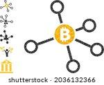 triangle bitcoin node links...   Shutterstock .eps vector #2036132366