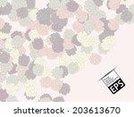 eps  floral background | Shutterstock .eps vector #203613670