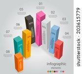 modern infographics banner   Shutterstock .eps vector #203615779