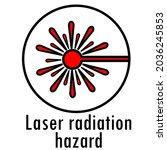 danger icon. warning danger...   Shutterstock .eps vector #2036245853