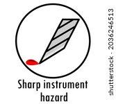 danger icon. warning danger...   Shutterstock .eps vector #2036246513