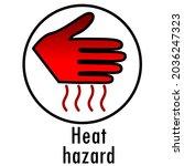 danger icon. warning danger...   Shutterstock .eps vector #2036247323