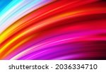 abstract colorful vector wave...   Shutterstock .eps vector #2036334710