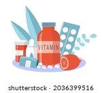 vector illustration on the...   Shutterstock .eps vector #2036399516
