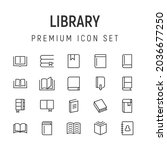 premium pack of library line...