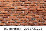 Fragment Of Uneven Street Brick ...