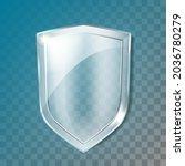 glass shield transparency...   Shutterstock .eps vector #2036780279