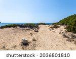 Sand Dune In Sa Mesa Longa...