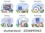 natural school subject or... | Shutterstock .eps vector #2036890463