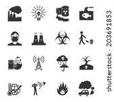 pollution toxic environment... | Shutterstock . vector #203691853