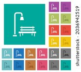 park multi colored flat icons... | Shutterstock .eps vector #2036942519