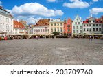 tallin estonia   july 22 tallin ... | Shutterstock . vector #203709760