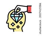 Brilliancy Knowledge Color Icon ...