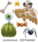 a set of illustrations for... | Shutterstock .eps vector #2037464660